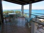Unsere Gäste lieben diese Terrasse sehr...
