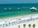 Some most beautiful beaches in Tampa, Clearwater, and St.Pete just a short drive away!