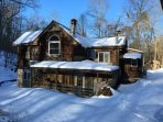Winter 2015 Rear of home