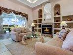 Villa Messina - living area