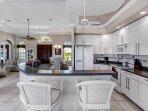 Villa Messina - kitchen