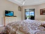 Villa Messina -  master bedroom