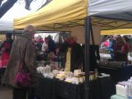 Stockbridge Market - 100m from apartment - great for local food and much more