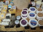 2 lovely independent cheese shops in Stockbridge.