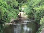 The Water of Leith is just opposite the apartment, with walks to many parts of Edinburgh.