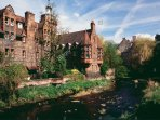 The Dean Village is a short walk along the Water of Leith, and is well worth a visit.