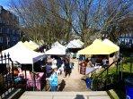 Stockbridge Market - 100 metres from apartment