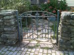 Main House Front Garden Gate, Designed And Fabricated By Master Blacksmith Duran Van Dorn