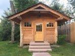 Hilltop House Sleeping Cabin Exterior