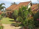 Lush gardens surrounding your villa