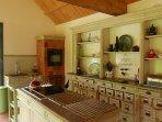 La cuisine et son mobilier de style recup