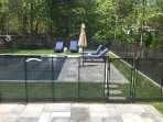 Removable baby-loc pool fence available as option for extra protection