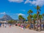 Arenal Promenade and Sandy Bay