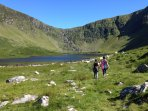 Loch a Duin - one of the many nearby walk