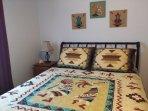 Kokopelli Room queen size bed