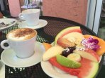 Breakfast at Bonjour French Cafe