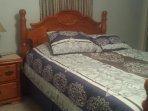 Main room. Queen bed.