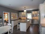 Cliff Bay House Kitchen complete with all amenities - two dishwashers and so much more