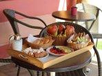 Ann George Resort breakfast