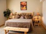 Rim Village I2 - Master bedroom - King bed