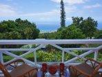 Enjoy your coffee on the Master Lanai with Ocean Views