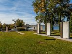 Olympic Rings, Rowing course, lake Wendouree