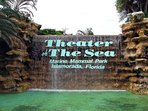 Theater of the Sea 5 miles south of home. Dolphin & sea lion encounters.