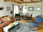Carriage House living/dining area