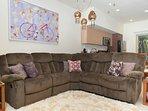 Massive Recliner Sofa!