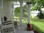 Enjoy a book or sip on the veranda and watch the tide ebb and flow.