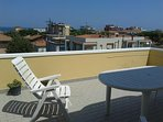 Attico a Viserba con terrazza vista mare - agosto
