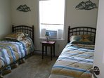 Two rein beds with dresser closet in all rooms all new furniture and ac
