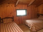 Bedroom 3- Full & Twin