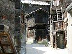 Old Zermatt - a five minute stroll from Zayetta