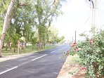 View outside Villa