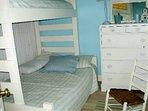 Bedroom 3, Full on bottom; twin on top