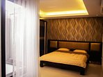 Nagoya Homestay Batam double bedroom