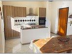 il soggiorno con cucina