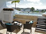 Private Rooftop Terrace with pool