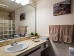 En-suite bathroom with walk-in shower, enjoy!