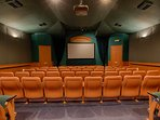 Resort 58 seat movie theater