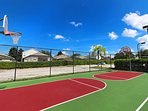 Resort Basketball courts