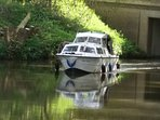 Discount given when staying for hire of our Day Boat  'Lazy Days' experience a slower pace of life.