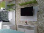 new studio for rent at Bassura City
