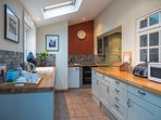 The kitchen was new in 2015 and has everything you could possibly want for a self catering holiday