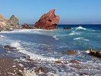 The nearest beach, less than 15 minutes away