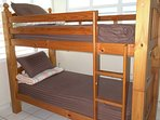 EACH APARTMENT IS EQUIPPED WITH BUNK BEDS