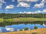 This condo is situated on the 13th fairway.