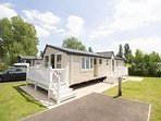 6 berth caravan for hire at Haven Hopton Holiday Village