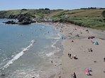 Kennack sands - just 10 minutes walk away